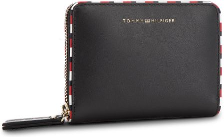 777a54b7f5016 Duży Portfel Damski TOMMY HILFIGER - Classic Leather Cmpc AW0AW05754 002  eobuwie