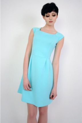 c2adc1c574 Vera Fashion Sukienka Colette w kolorze turkusowym