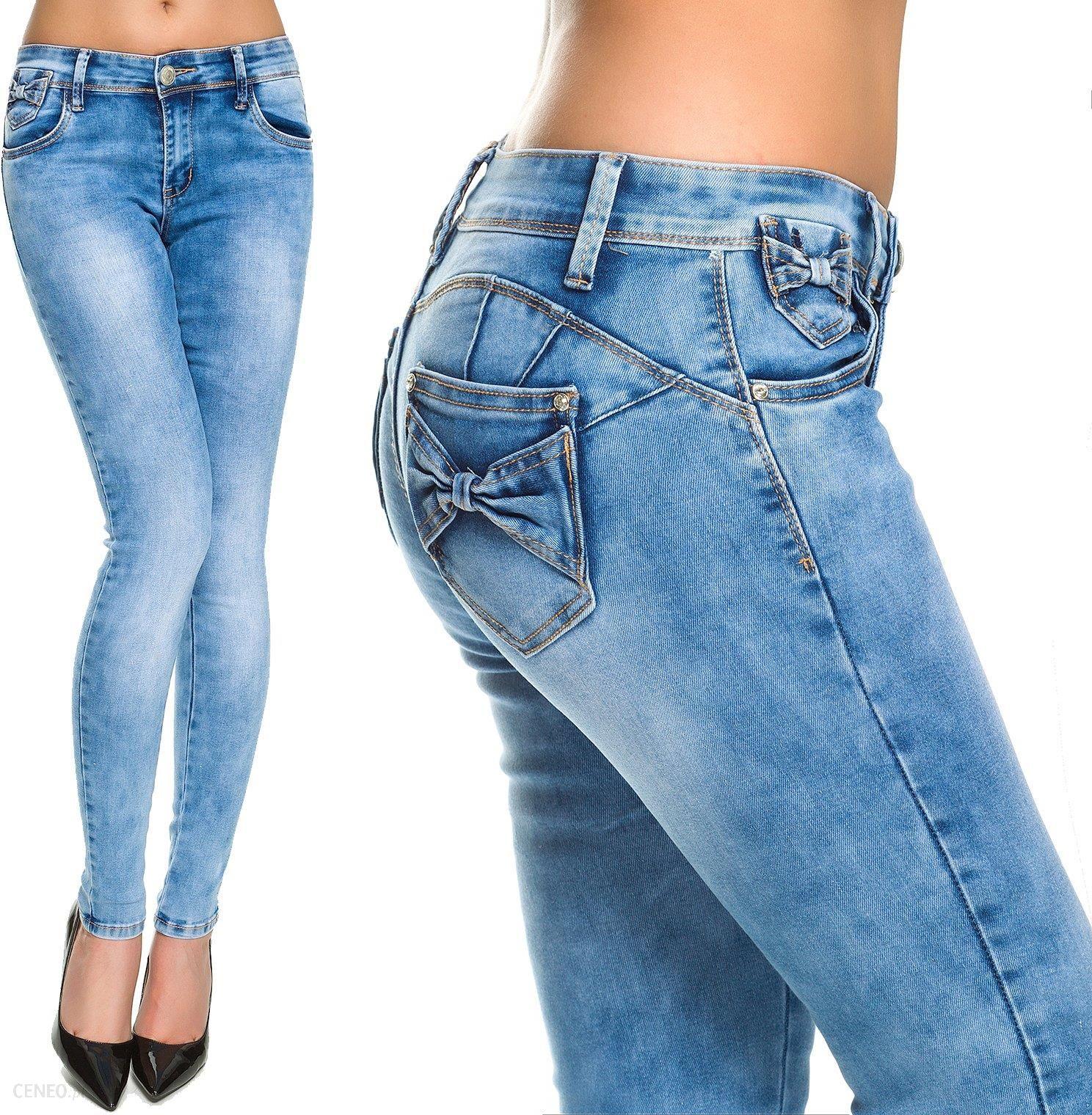 Z Push 240 I xs spodnie Jeansy Kokardkami roz Ceny Opinie Up w1ASHxAYq