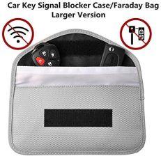 Amazon sygnału RFID Blocker Case, karty kredytowej rękawy, blokują Keyless  Entry FOB Guard sygnału torba Bag, kradzieży urządzenia Lock, ochrona