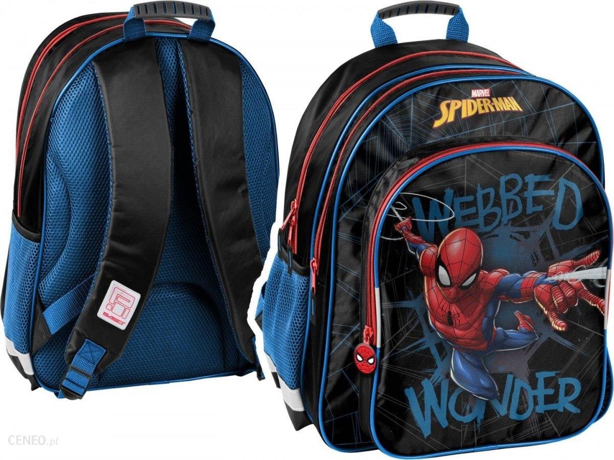 a70757f8b9f08 Paso Plecak 2-Komorowy Spiderman Spl-090 - Ceny i opinie - Ceneo.pl