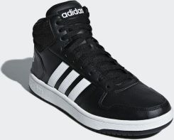 Adidas Buty męskie Hoops 2.0 Mid czarne r. 44 23 (BB7207) Ceny i opinie Ceneo.pl