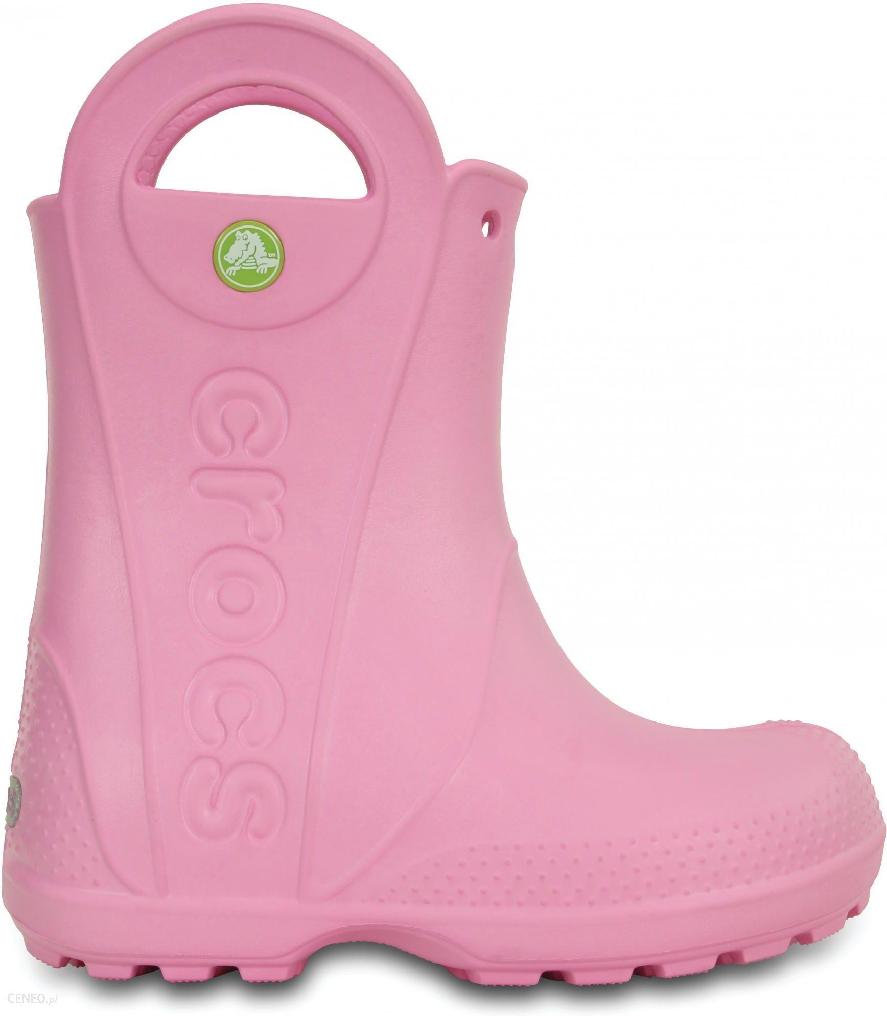 Crocs Handle It Rain Boot 24,5 różowy Ceny i opinie Ceneo.pl