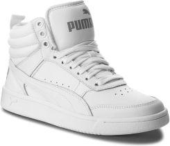 9c920cc8 Sneakersy PUMA - Rebound Street V2 L Jr 363913 02 Puma White/Puma White  eobuwie