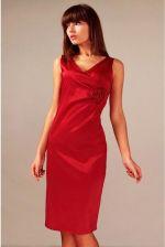 d6940e70ae Vera Fashion Elegancka sukienka Afrodyta w kolorze czerwonym