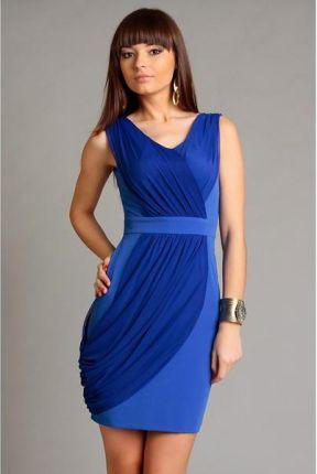 040755ce1f Numoco 166-5 MAXI szyfonowa długa suknia z rozcięciem - ZIELEŃ ...