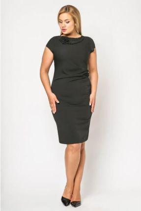 d04ee90fd24523 Vera Fashion Sukienka Salome w kolorze czarnym