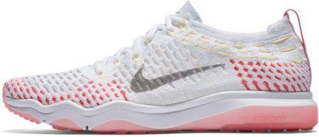 Damskie buty treningowe Nike Zoom Fearless Flyknit Biel Ceny i opinie Ceneo.pl