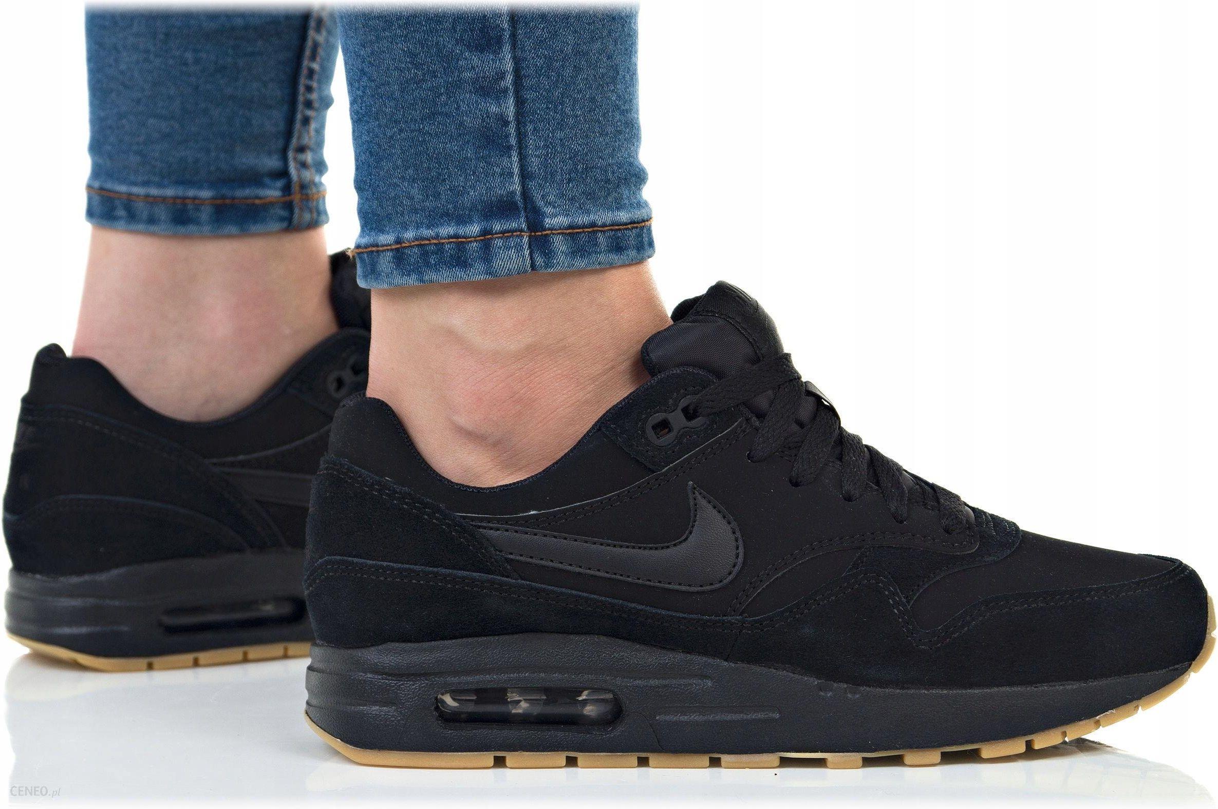 huge selection of a0c07 7069f Buty Nike Damskie Air Max 1 (gs) 807602-008 Czarne - zdjęcie 1