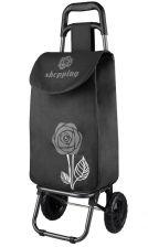 4e8b90cd45834 Wózek na zakupy KEMER BF102 Kwiat 01 - fioletowy    fioletowy / zielony