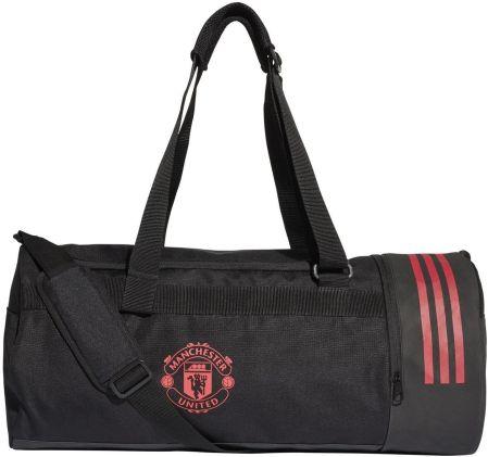 baf6a4e452f83 Torba Manchester United Duffel 36L Adidas (czarno-czerwona) sport-shop.pl