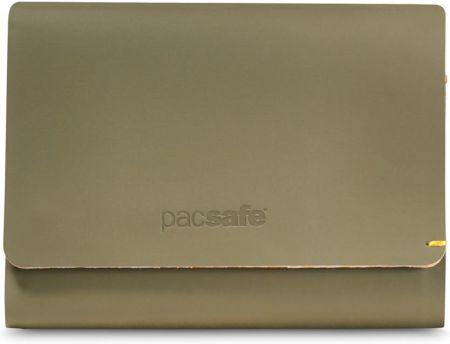 e002fb00ffadb Portfel z ochroną przed kradzieżą Pacsafe RFIDsafe TEC Trifold Wallet  Oliwkowy - Oliwkowy