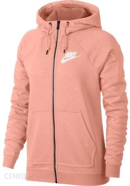 Damska rozpinana bluza z kapturem Nike Sportswear Rally Szary Ceny i opinie Ceneo.pl