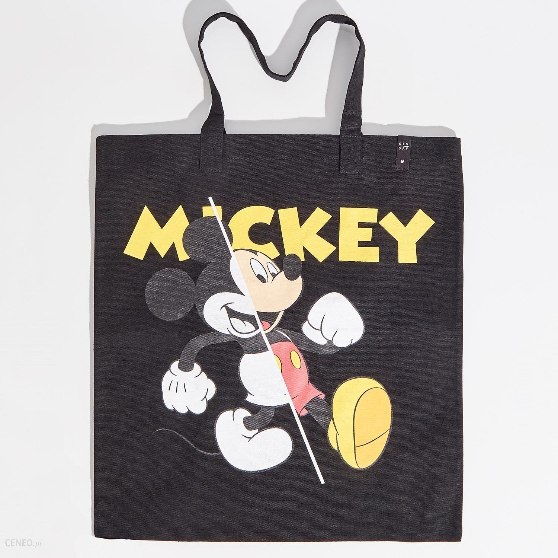 Sinsay Torba mickey mouse Czarny Ceny i opinie Ceneo.pl