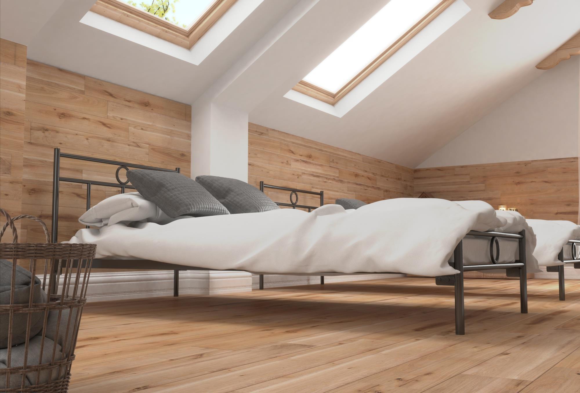 Lak System łóżko Metalowe 120x200 Wzór 13 J Stelaż