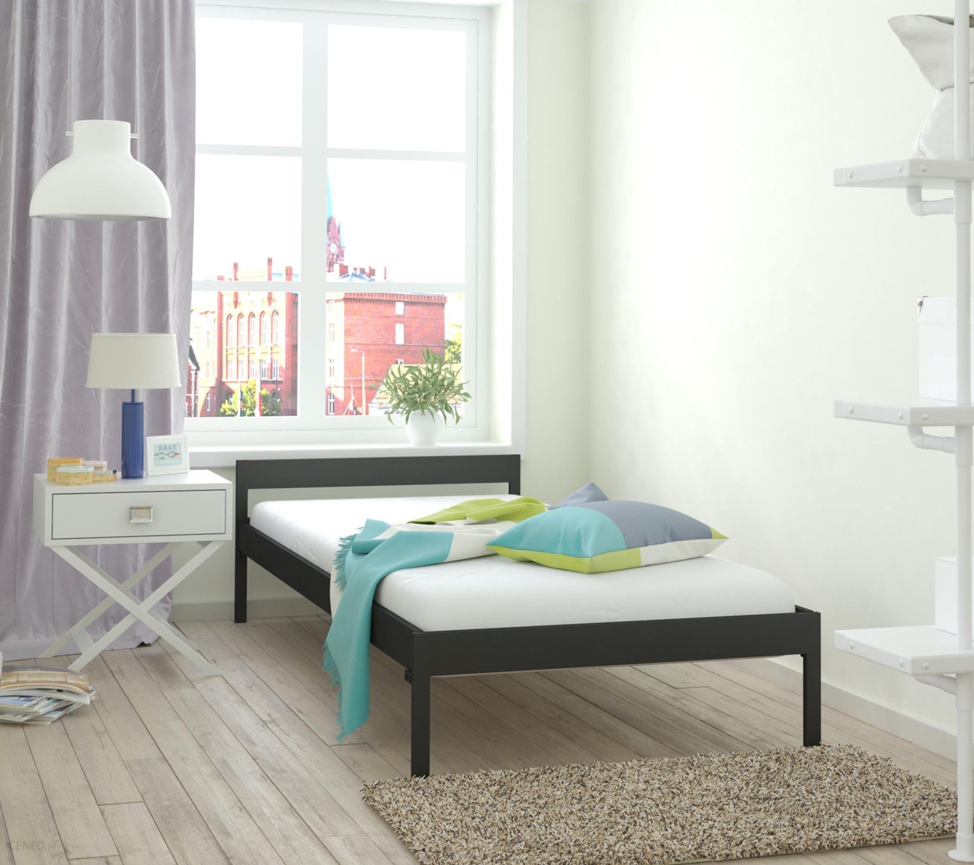 Lak System łóżko Metalowe 120x200 Wzór 1 Stelaż