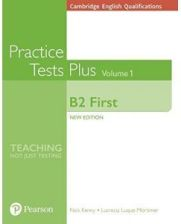 Cambridge English Qualifications: B2 First Volume 1 Practice Tests Plus (no key)