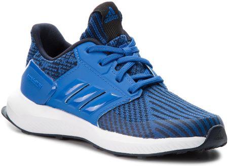 uk availability 9b669 62abc Buty adidas - RapidaRun Knit C AH2591 Blue Legink Ftwwht eobuwie