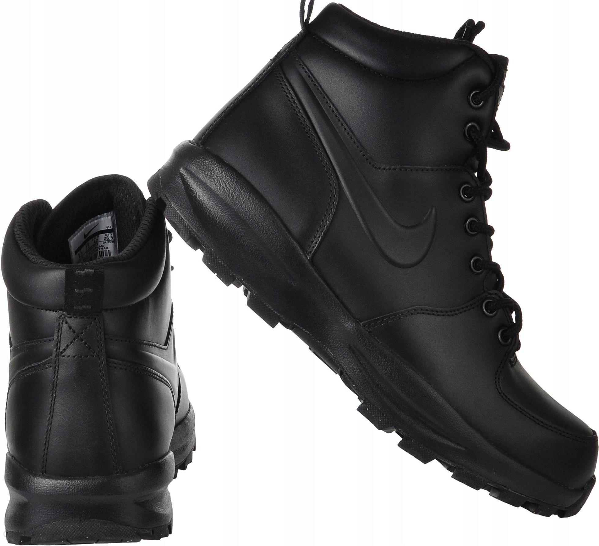 Buty eleganckie męskie | czarny zima Buty zimowe męskie Nike