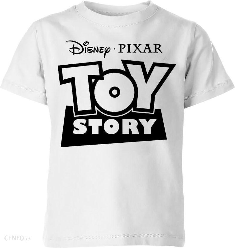 7f6bfe181ead56 Toy Story Logo Outline Kids' T-Shirt - White - 3-4 Years - White ...