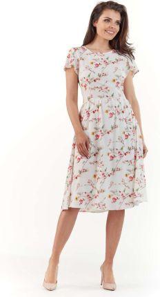 05a13304 Wizytowa sukienka w paski - Ceny i opinie - Ceneo.pl