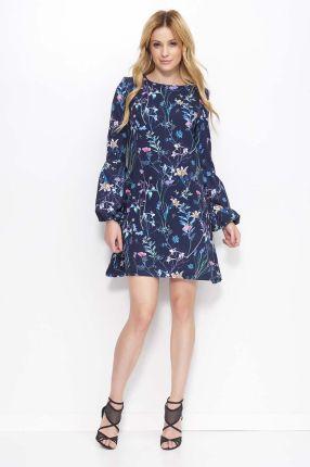 be8e436c20d964 PtakModa - Koronkowa sukienka z kontrafałdami BEATA MAJER - Ceny i ...