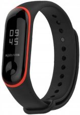 Tech-Protect Smooth Xiaomi Mi Band 3 Black/Red (99236564)