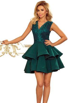 d640ded22c NICOLLE sukienka dłuższy tył dekolt CHABROWA - XXL - Ceny i opinie ...