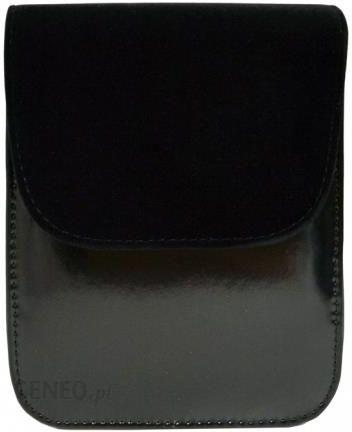 739321df716a4 Lakierowana kopertówka z zamszową klapką - Ceny i opinie - Ceneo.pl