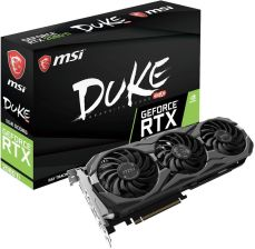 MSI GeForce RTX 2080 Ti DUKE 11GB GDDR6 (GEFORCERTX2080TIDUKE11GOC)