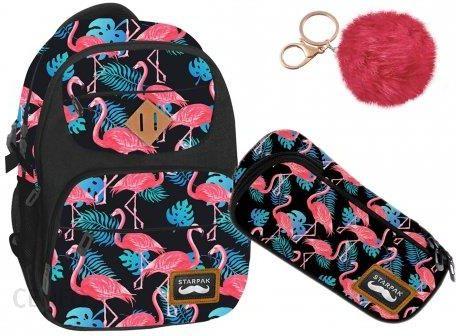 86acb65731403 Starpak Zestaw Plecak Piórnik Pink Flaming 2W1 - Ceny i opinie ...