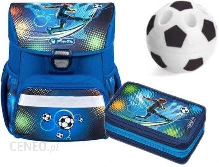 8e766a8829804 Herlitz Loop Tornister Piórnik Soccer Football - Ceny i opinie ...