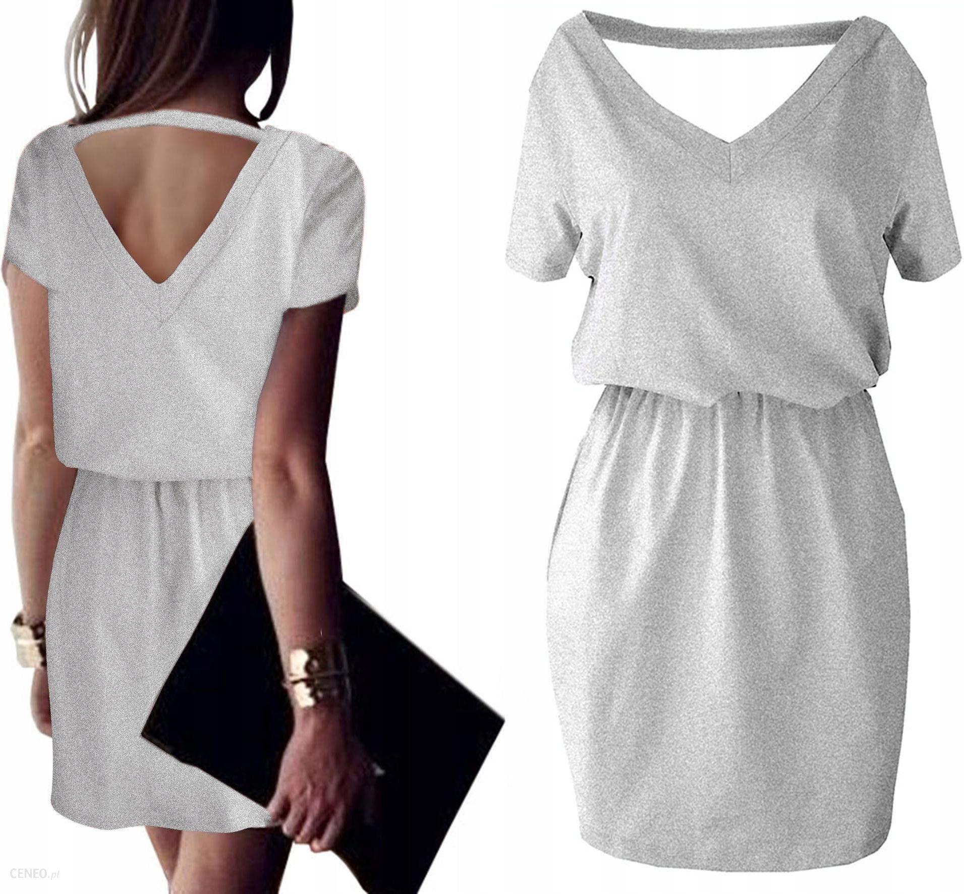 41580a56a95208 Awanti kobieca Sukienka wycięty tył v-neck pastele - Ceny i opinie ...