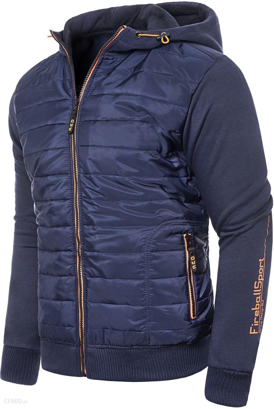 4470da9cd Męska ocieplana bluza/kurtka HL8649 - stalowa Risardi - Ceny i ...