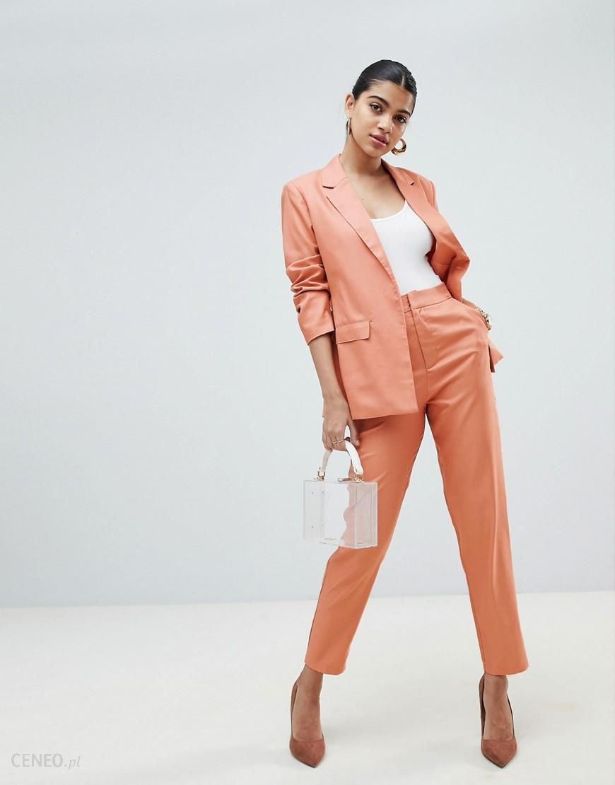 19a3a5d8e94d Fashion Union Cigarette Trousers Co-Ord - Pink - zdjęcie 1