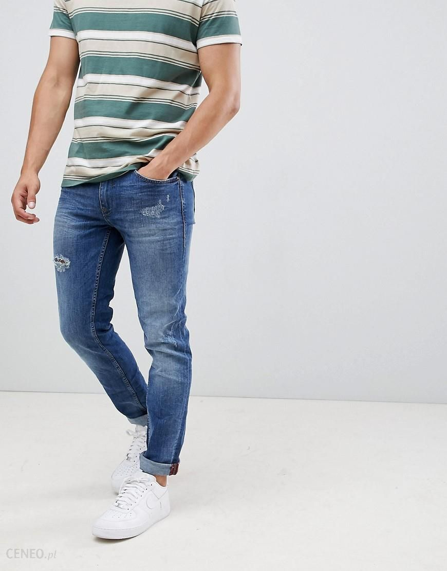 Blend twister slim fit jeans lightwash Blue Ceneo.pl