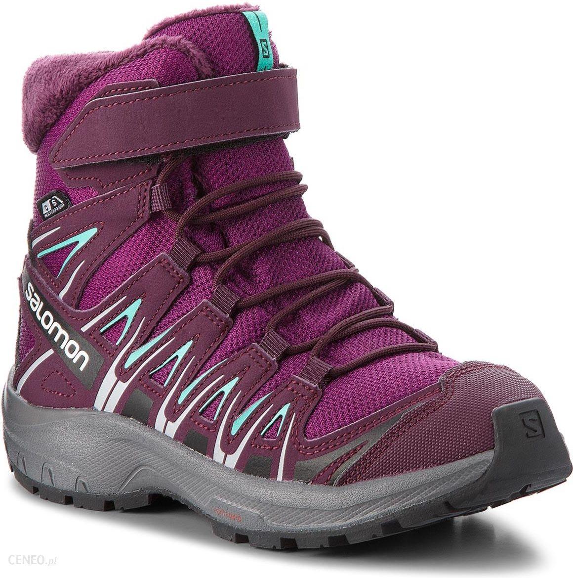Śniegowce SALOMON Xa Pro 3D Winter Ts Cswp J 406510 09 W0 Dark PurplePotent PurpleAtlantis