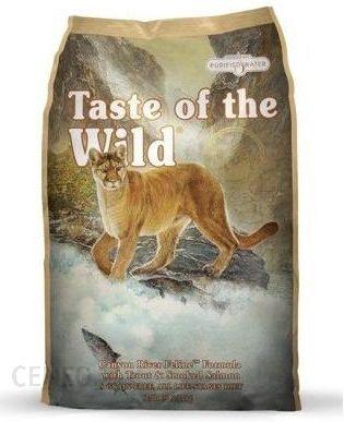 Taste Of The Wild Canyon River Feline Pstrąg 2Kg