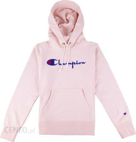 informacje dla kupować rozsądna cena CHAMPION Bluza z kapturem Champion damska Hooded Sweatshirt Pink  110975/PS096 - Ceny i opinie - Ceneo.pl