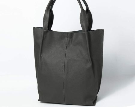 5635d9a806c88 Podobne produkty do Cropp - Materiałowa torba z napisem - Czarny. BagStyle  Skórzana Torebka - Shopper Bag