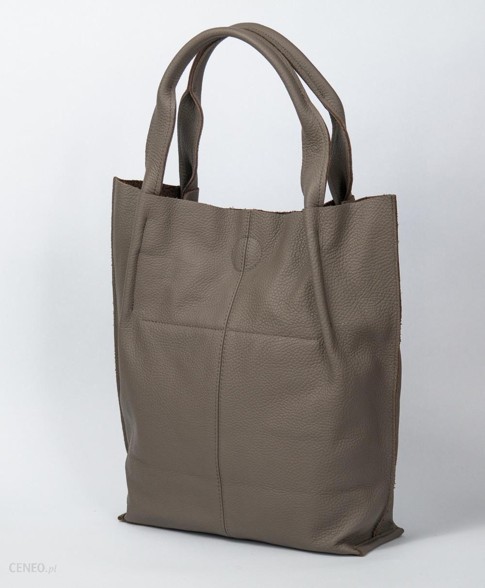 b09e12552cfcc BagStyle Skórzana Torebka - Shopper Bag - Ceny i opinie - Ceneo.pl