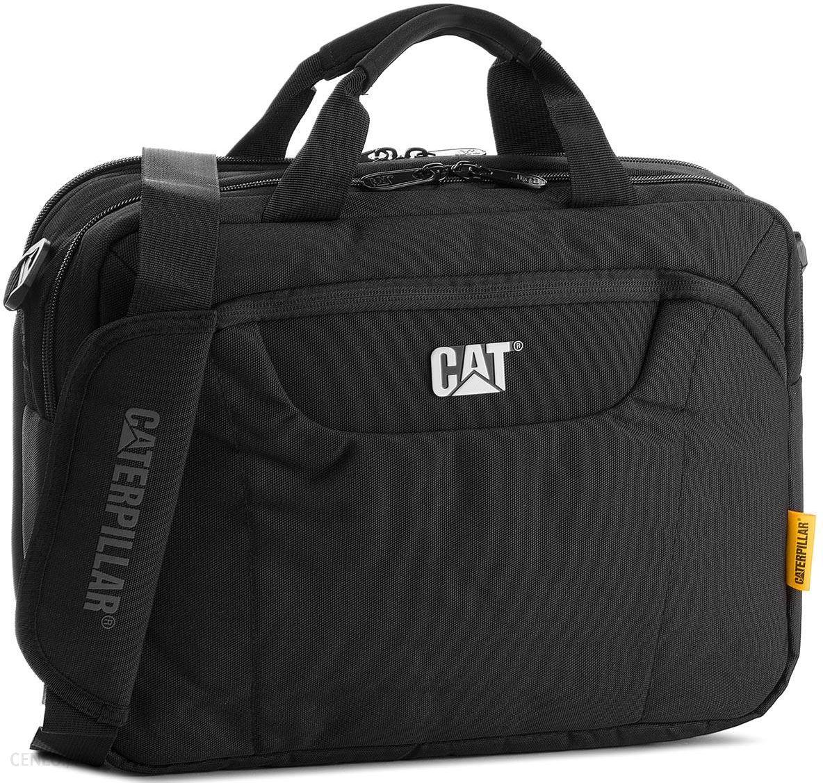 ba537e13878b7 Torba CATERPILLAR - Laptop Messenger 83477 Black 01 - Ceny i opinie ...