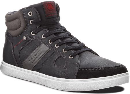 online retailer 966f3 cddc6 Sneakersy LANETTI - MP07-15609-03BIG Black eobuwie