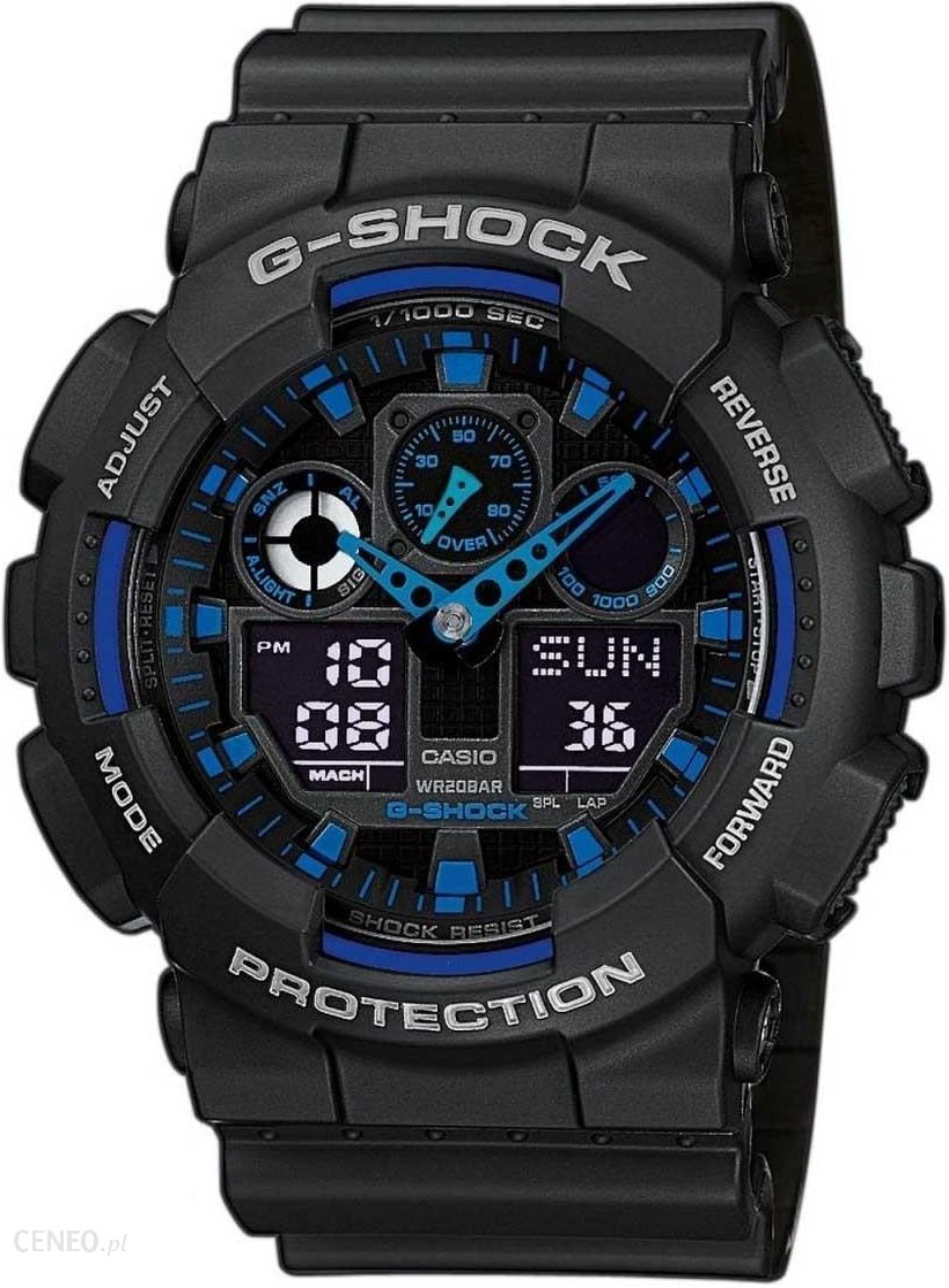 2 zegarek casio g-shock ga 100