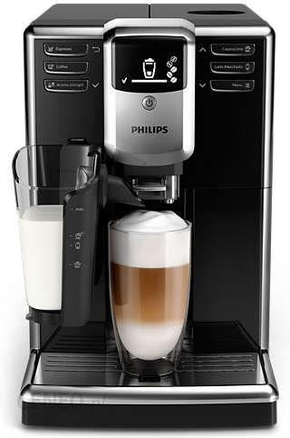 Kavos aparatas PHILIPS 5000 LatteGo EP5330 / 10 juodas
