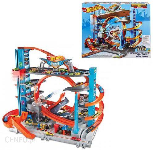 Hot Wheels City Mega Garaż Rekina Ftb69 Ceny I Opinie Ceneopl