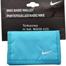 5bd4f3764f8c7 Nike Portfel Basic Wallet Męski Damski Błękitny Allegro