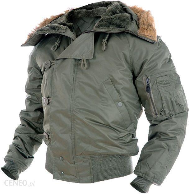 Kurtka Wojskowa Zimowa Alaska Parka N2B Oliv M Ceny i opinie Ceneo.pl