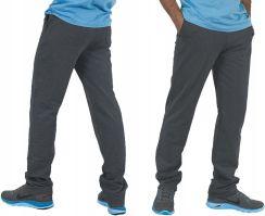 Spodnie Polarowe Dresowe Męskie Polar r XL oliwka Ceny i