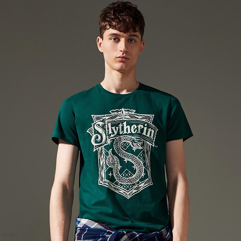 House T shirt harry potter Granatowy Ceny i opinie